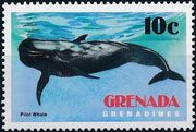 Grenada Grenadines 1983 Whales a