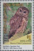 Grenada Grenadines 1995 100th Anniversary of Sierra Club - Endangered Species j