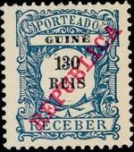 Guinea, Portuguese 1911 Postage Due Stamps h