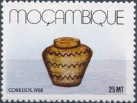 Mozambique 1988 Basketry - Local Crafts b