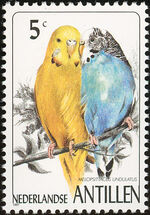 Netherlands Antilles 1997 Birds a