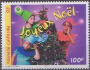 New Caledonia 1999 Christmas a