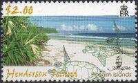 Pitcairn Islands 2006 Henderson Island Scenes f