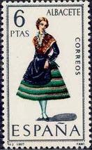 Spain 1967 Regional Costumes Issue b