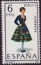 Spain 1967 Regional Costumes Issue i