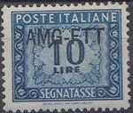 Trieste-Zone A 1949 Postage Due Stamps of Italy 1947-1954 Overprinted d