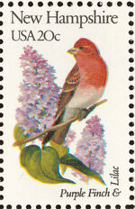 United States of America 1982 State birds and flowers za