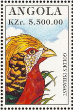 Angola 1996 Hunting Birds d