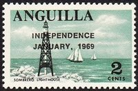 Anguilla 1969 Independence b