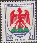 France 1958 Coat of Arms e