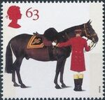 Great Britain 1997 50th Anniversary of the British Horse Society d