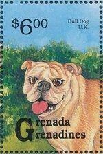 Grenada Grenadines 1993 Dogs j