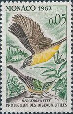 Monaco 1962 Protection of Useful Birds a
