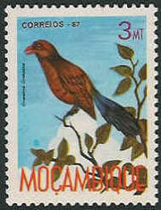 Mozambique 1987 Birds of Moçambique (Third Issue) a