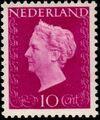 Netherlands 1947 Queen Wilhelmina - Type Hartz b
