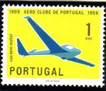 Portugal 1960 The 50th Anniversary of the Aero Club of Portugal a