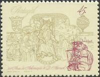Portugal 1995 500th Anniversary of the Crowning of King Manuel I a