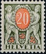 Switzerland 1924 Postage Due Stamps d