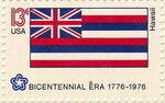 United States of America 1976 American Bicentennial - Flags of 50 States zx