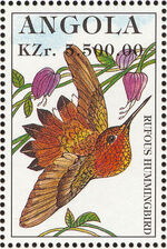 Angola 1996 Hummingbirds h