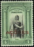 Azores 1926 1st Independence Issue Overprinted c