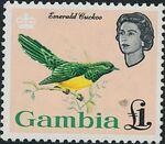 Gambia 1963 Birds m