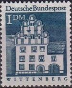 Germany, Federal Republic 1966 Building Structures from Twelve Centuries (1st Group) d