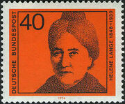 Germany, Federal Republic 1974 Famous Woman b