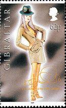 Gibraltar 1997 Dior Fashion Designs by John Galiano d