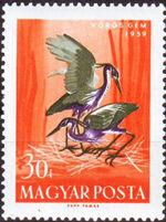 Hungary 1959 Water Birds c