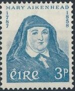 Ireland 1958 Mother Mary Aikenhead (1787-1858) founder of the Irish Sisters of Charity a