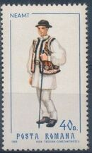 Romania 1968 Folk Costumes b