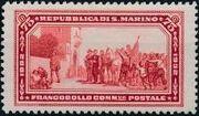 San Marino 1932 50th Anniversary of Giuseppe Garibaldi Death e