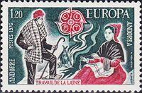 Andorra-French 1976 Europa b