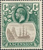 Ascension 1924 Seal of the Colony bb