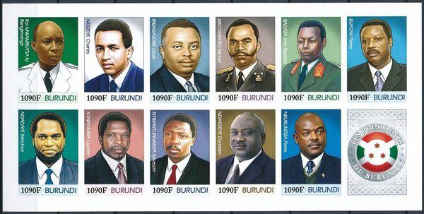Burundi 2012 Presidents of Burundi r