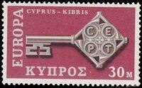 Cyprus 1968 Europa-CEPT b