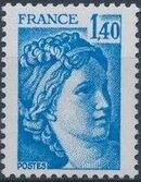 France 1978 Sabine after Jacques-Louis David (1748-1825) (2nd Issue) i