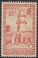 French Somali Coast 1938 Definitives g