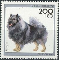 Germany-Unified 1995 Dogs e