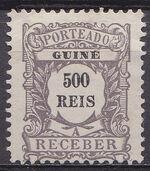 Guinea, Portuguese 1904 Postage Due Stamps j