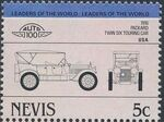 Nevis 1984 Leaders of the World - Auto 100 (1st Group) k