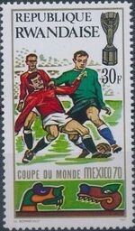 Rwanda 1970 Football World Cup - Mexico g