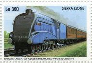 Sierra Leone 1995 Railways of the World 4c