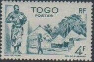Togo 1947 Native Scenes l