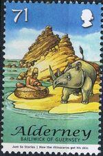 Alderney 2007 Rudyard Kipling's Just So Stories f