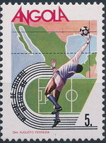 Angola 1986 World Cup - Mexico 86 c