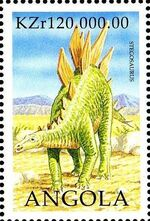 Angola 1998 Prehistoric Animals (2nd Group) h