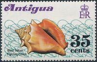 Antigua 1972 Sea Shells c