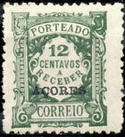 Azores 1924 Postage Due Stamps of Portugal Overprinted (3rd Group) d
